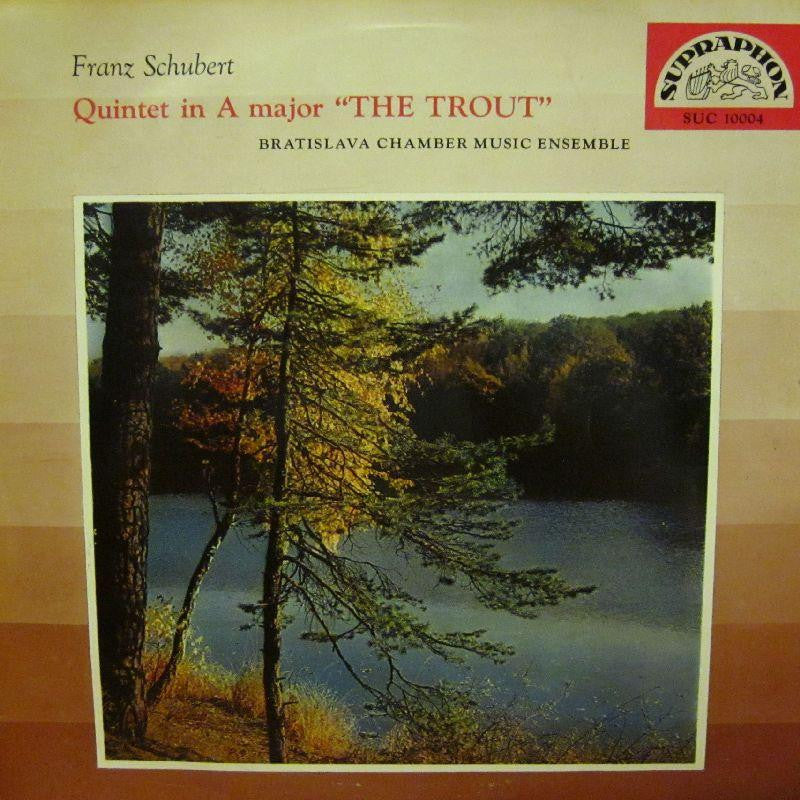 Schubert-Quintet In A Major The Trout-Supraphon-Vinyl LP