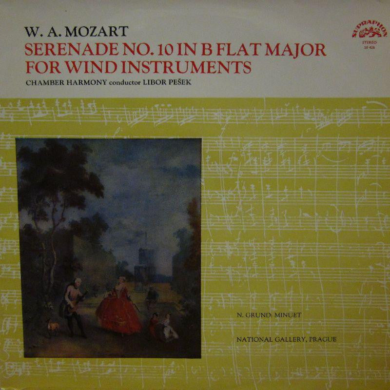 Mozart-Serenade No.10 For Wind Instruments-Supraphon-Vinyl LP