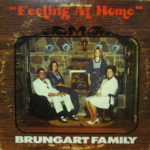 Brungart Family-Feeling At Home-Queensgate-Vinyl LP