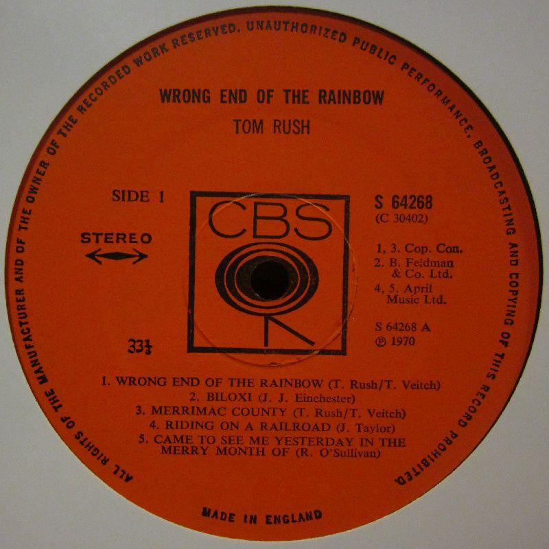 Tom Rush-Wrong End Of The Rainbow-CBS-Vinyl LP