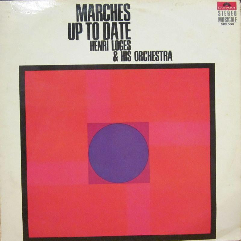Henri Loges & His Orchestra-Marches Up To Date-Polydor-Vinyl LP