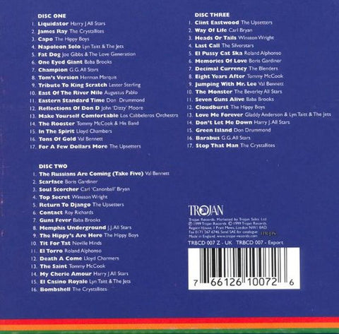 Trojan Instrumentals Box Set-Trojan-3CD Album Box Set-New & Sealed