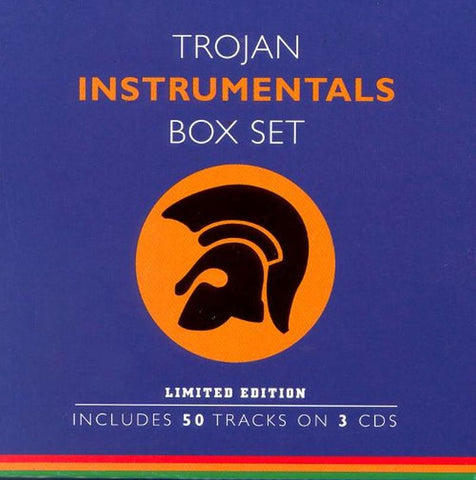 Trojan Instrumentals Box Set-Trojan-3CD Album Box Set