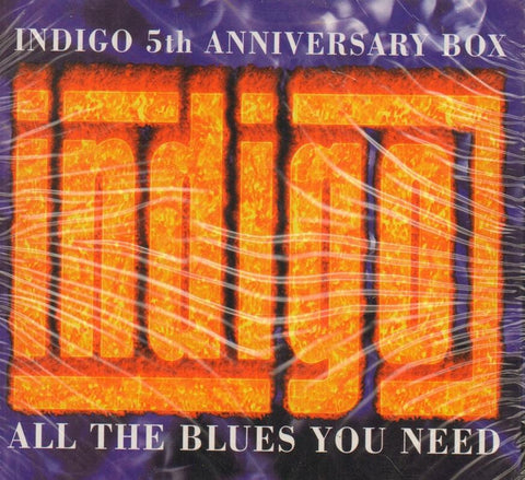 Various Blues-Indigo 5th Anniversary Box: All The Blues You Need-3CD Album Box Set