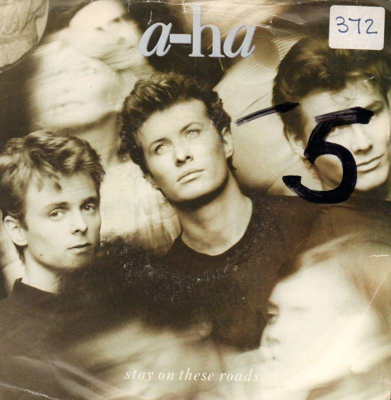 "A-Ha-Stay On These Roads-WEA-7"" Vinyl P/S"
