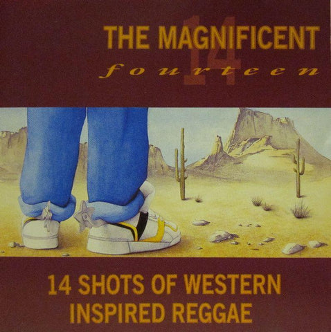 The Magnificent Fourteen-14 Shots Of Western Inspired Reggae-Trojan-CD Album