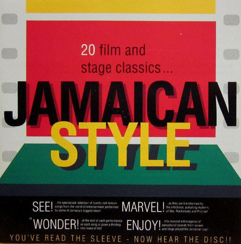 Various Reggae-20 Film And Stage Classics Jamaican Style-Trojan-CD Album