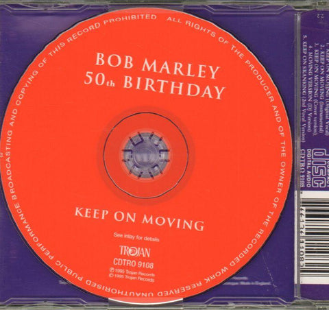 50th Anniversary Keep On Moving-Trojan-CD Single-New