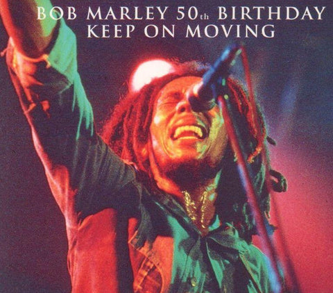 Bob Marley-50th Anniversary Keep On Moving-Trojan-CD Single
