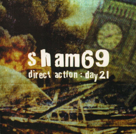 Sham 69-Direct Action Day 21-Store For Music-CD Album