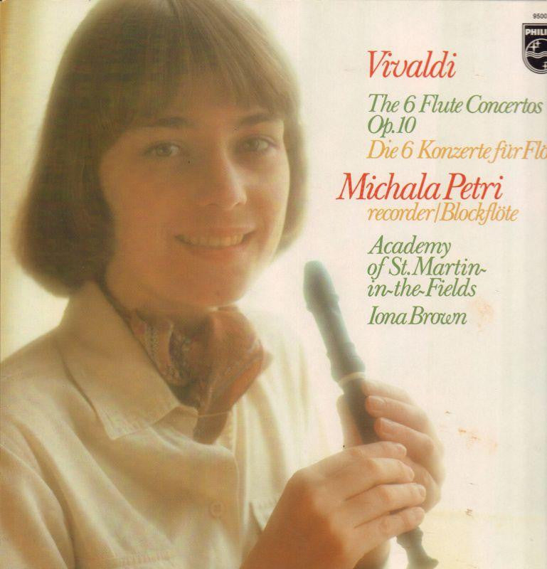 Vivaldi-The 6 Flute Concertos-Philips-Vinyl LP