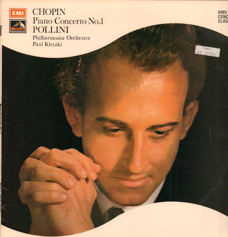 Chopin-Piano Concerto No.1-HMV-Vinyl LP