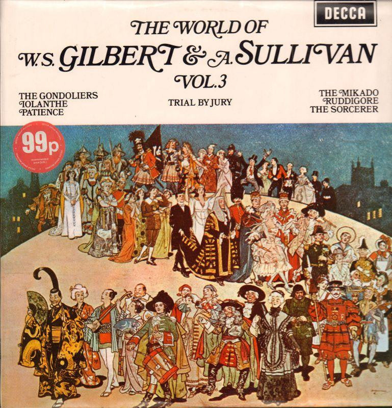 Gilbert And Sullivan-The World Of Vol.3-Decca-Vinyl LP