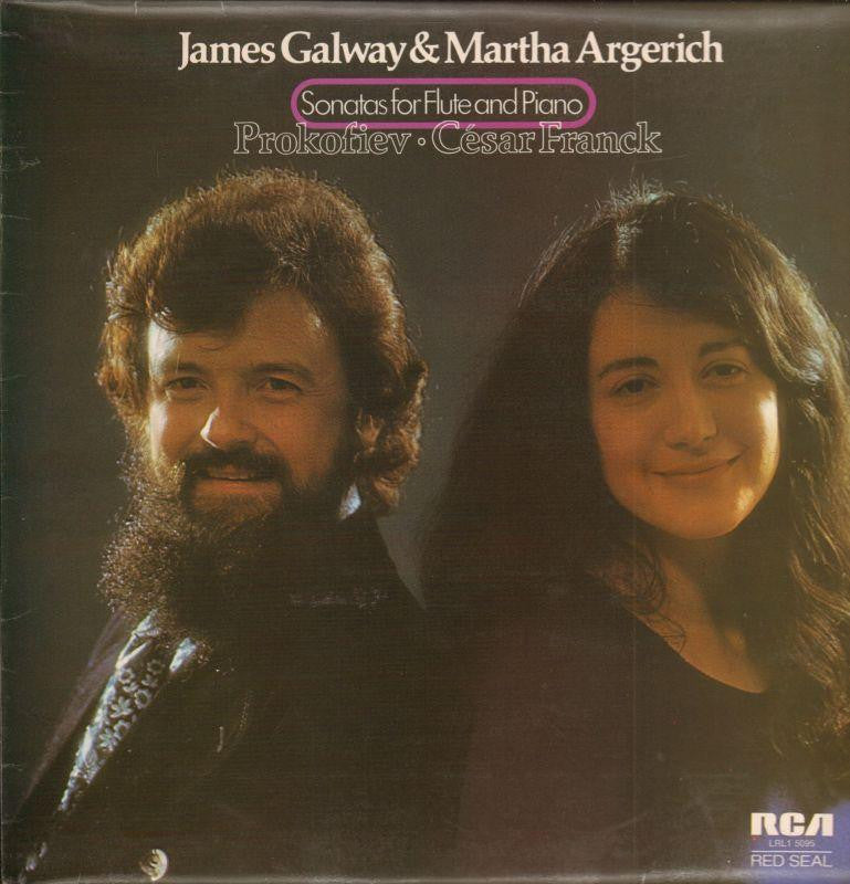 James Galway-Sonatas For Flute And Piano-RCA-Vinyl LP