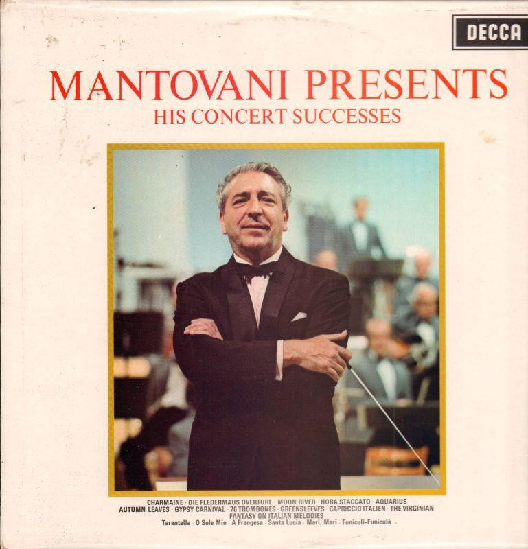 Mantovani-His Concert Successes-Decca-Vinyl LP