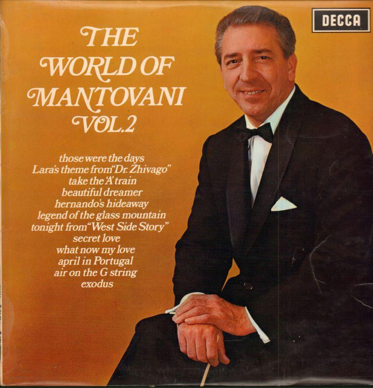 Mantovani-The World Of Vol.2-Decca-Vinyl LP