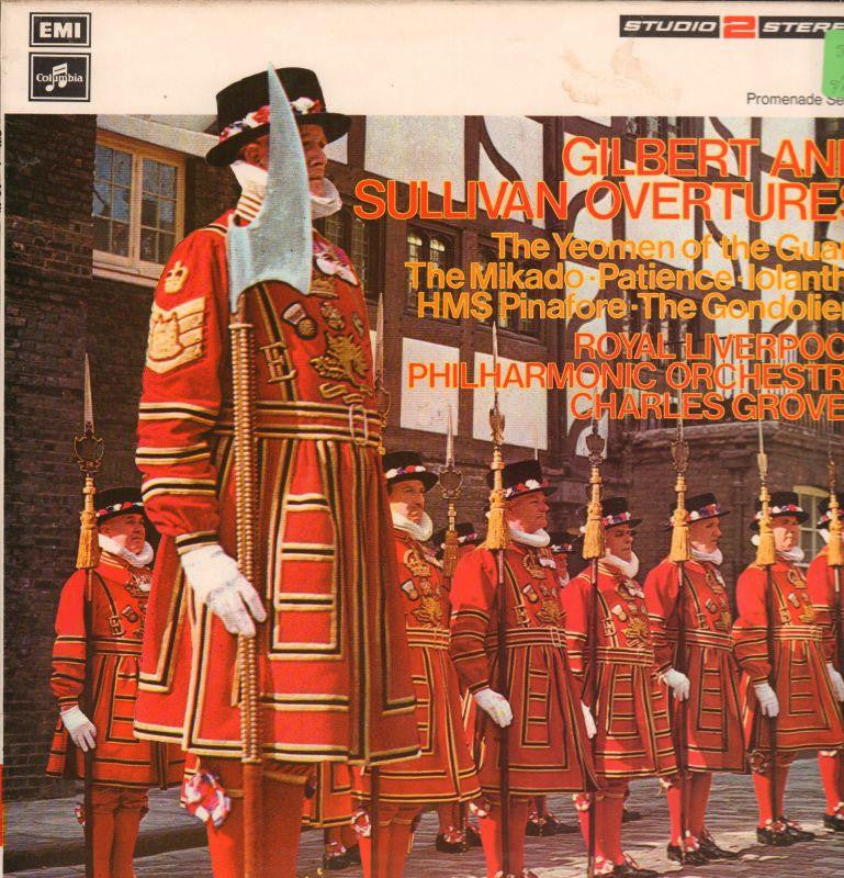 Gilbert And Sullivan-Overtures-Columbia-Vinyl LP