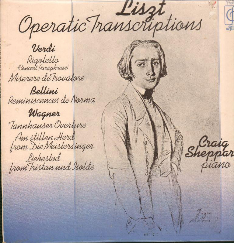 Liszt-Operatic Transcriptions-CFP-Vinyl LP
