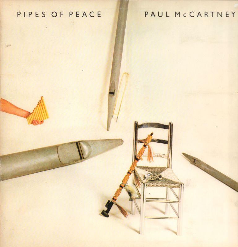 Paul McCartney-Pipes Of Peace-Parlophone-Vinyl LP Gatefold