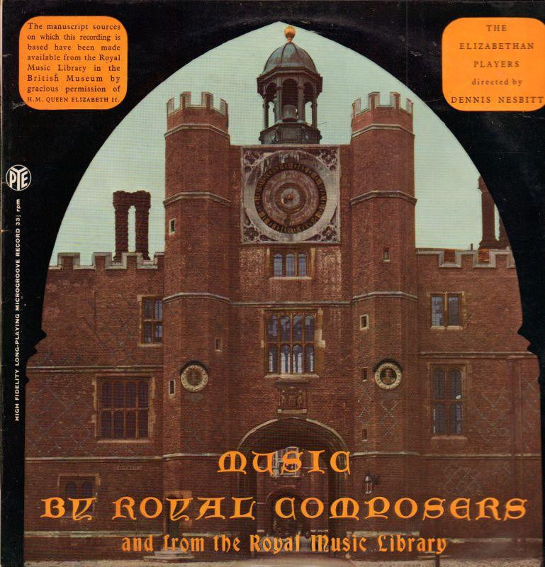 The Elizabethan Players-Music By Royal Composers-Pye-Vinyl LP