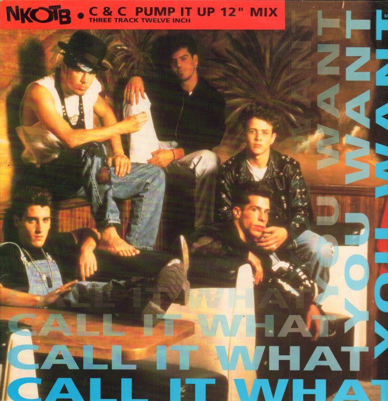 "New Kids On The Block-Call It What You Want-Columbia-12"" Vinyl P/S"