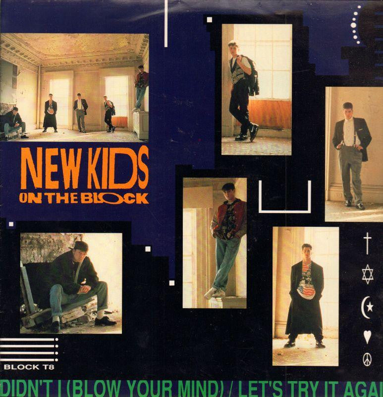 "New Kids On The Block-Didn't -CBS-12"" Vinyl P/S"
