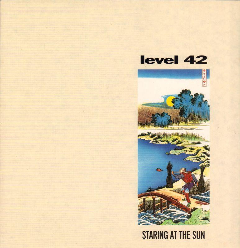 Level 42-Staring At The Sun-Polydor-Vinyl LP