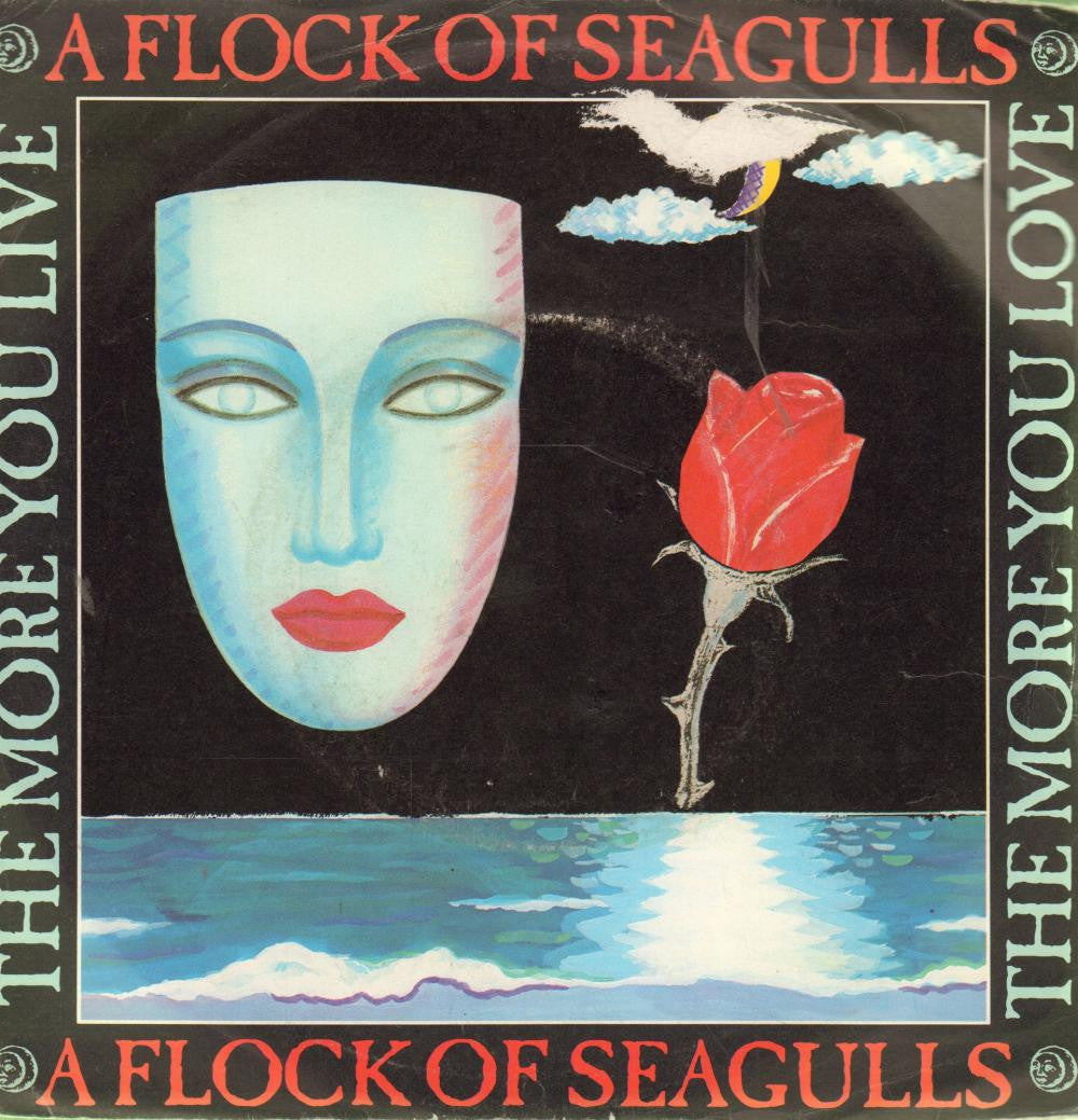 "A Flock of Seagulls-The More You Live-JIVE-7"" Vinyl P/S"