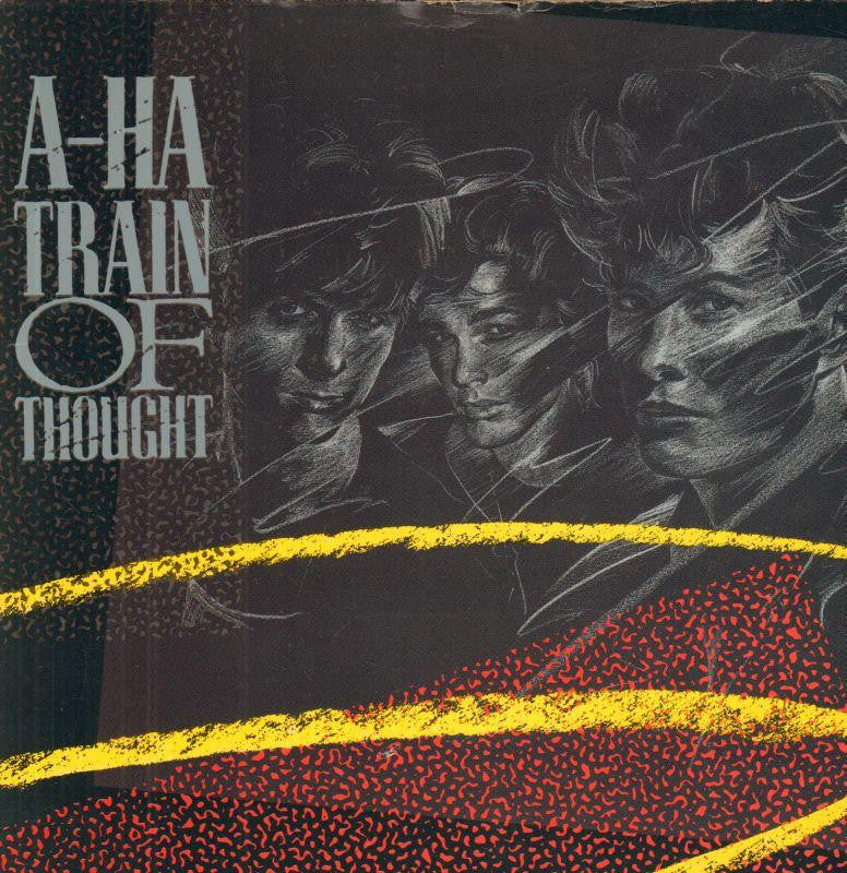 "A-Ha-Train Of Thought-7"" Vinyl P/S"