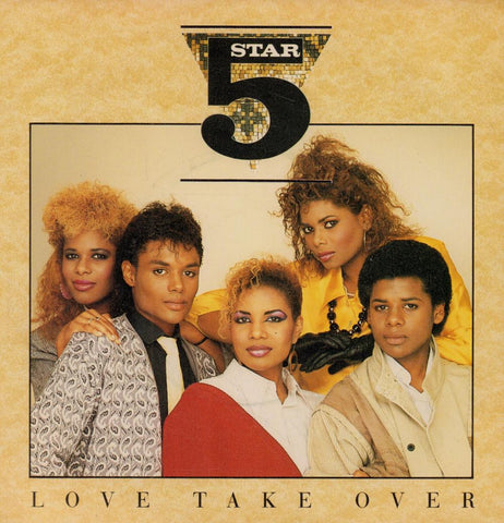 "5 Star-Love Take Over-7"" Vinyl P/S"