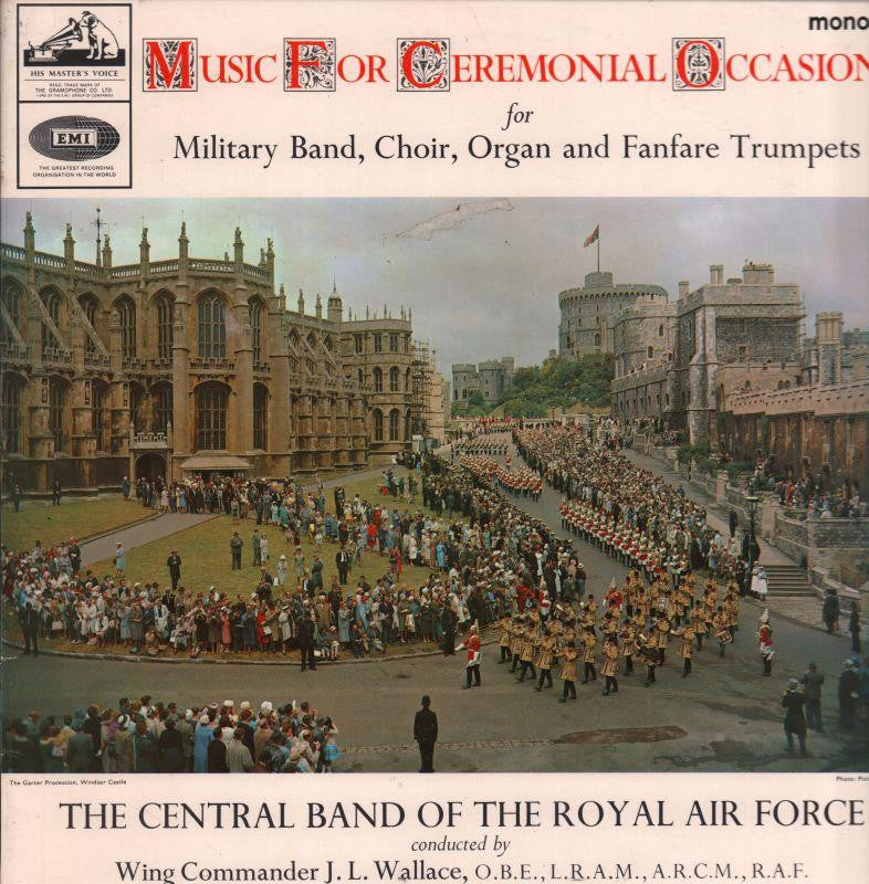 The Central Band of The R.A.F-Music For Ceremonial Occasions-HMV-Vinyl LP