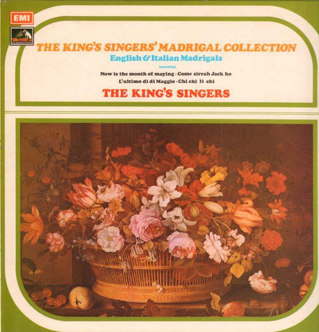 The King's Singers-Madrigal Collection-EMI-Vinyl LP