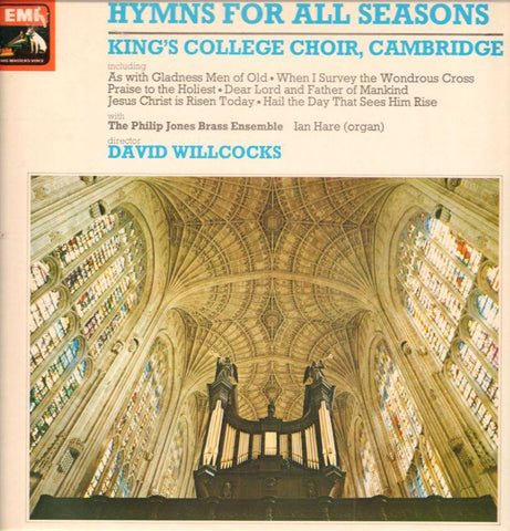 The King's College Choir, Cambridge-Hymns For All Seasons-EMI-Vinyl LP
