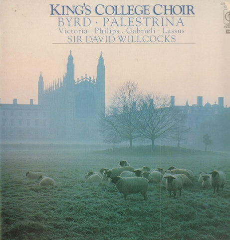 The King's College Choir, Cambridge-Byrd/Palestrina-CFP-Vinyl LP