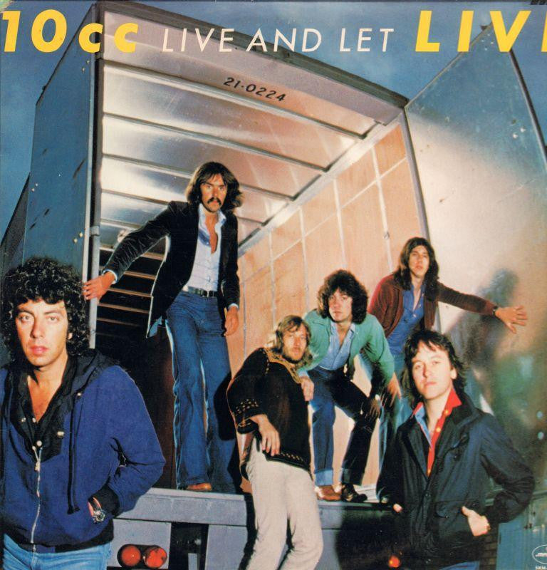 "10CC-Live And Let Live-2x12"" Vinyl LP Gatefold"