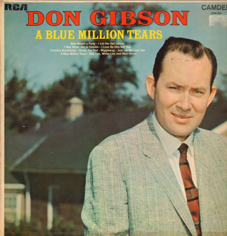 Don Gibson-A Blue Million Tears-RCA-Vinyl LP