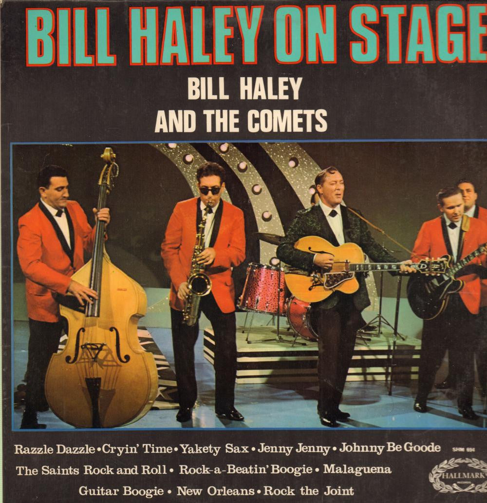 Bill Haley and His Comets-On Stage-Hallmark-Vinyl LP