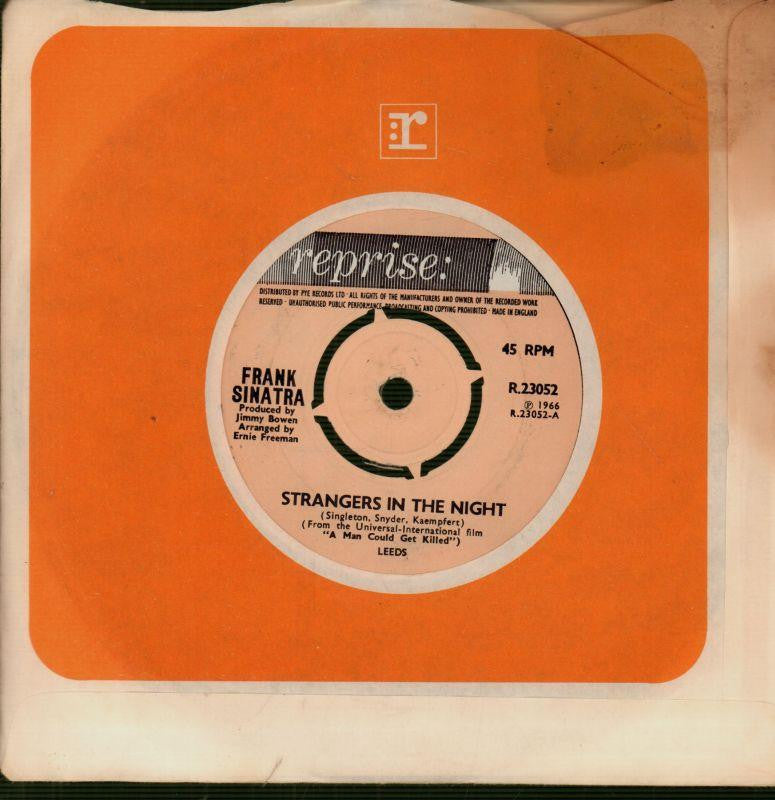 "Frank Sinatra-Strangers In The Night / My Kind Of Town-7"" Vinyl"