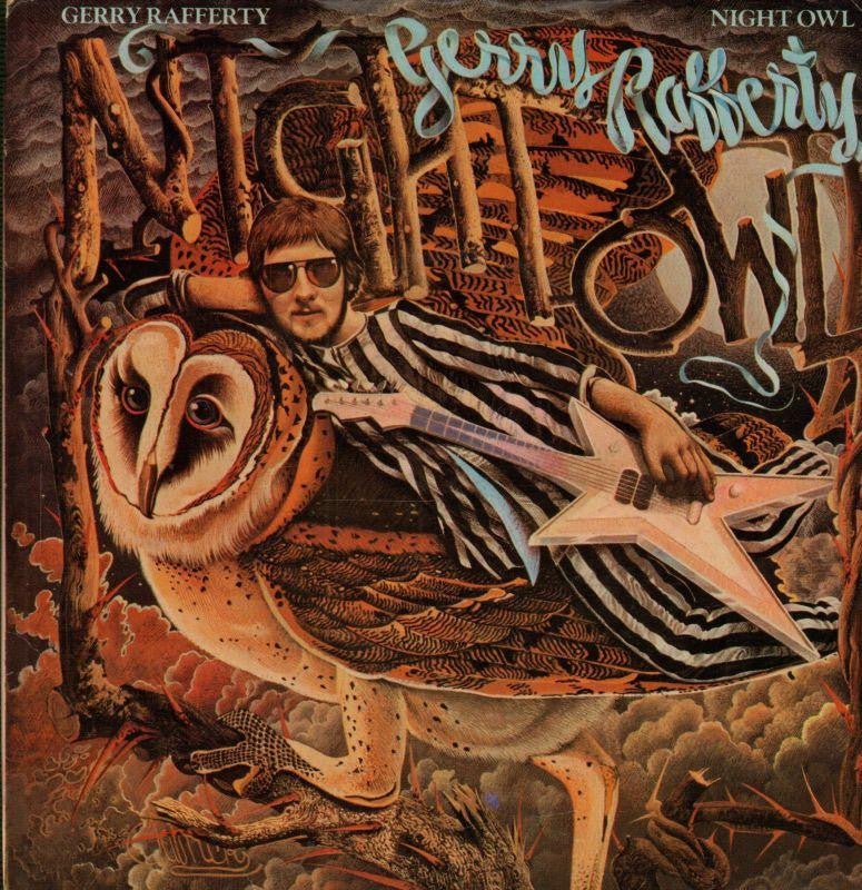 "Gerry Rafferty-Night Owl-United Artist-7"" Vinyl P/S"