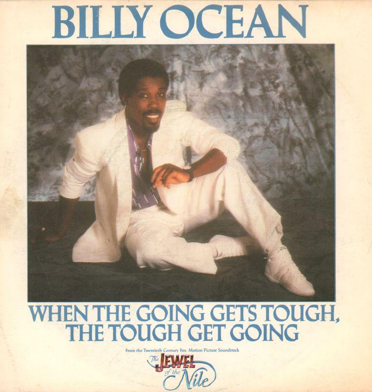 "Billy Ocean-When The Going Gets Tough-Jive-7"" Vinyl P/S"