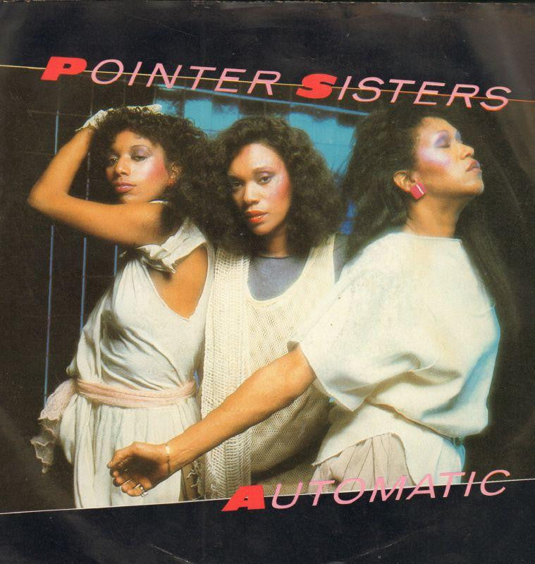 "Pointer Sisters-Automatic-Planet-7"" Vinyl P/S"