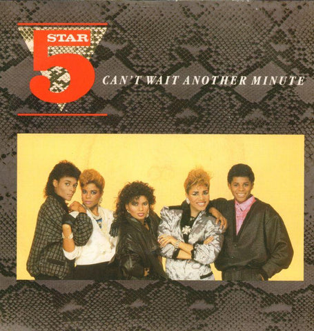 "5 Star-Can't Wait Another Minute-RCA-7"" Vinyl P/S"