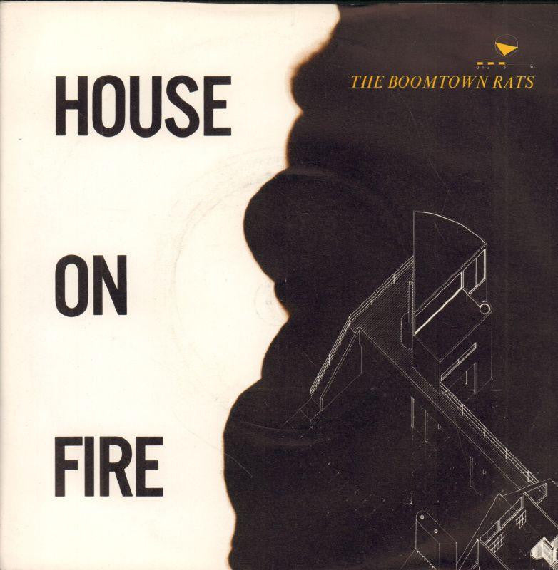 "The Boomtown Rats-House On Fire-Mercury-7"" Vinyl P/S"