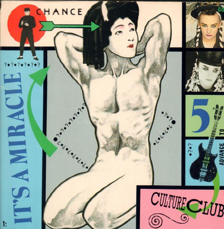 "Culture Club-It's A Miracle-Virgin-7"" Vinyl P/S"