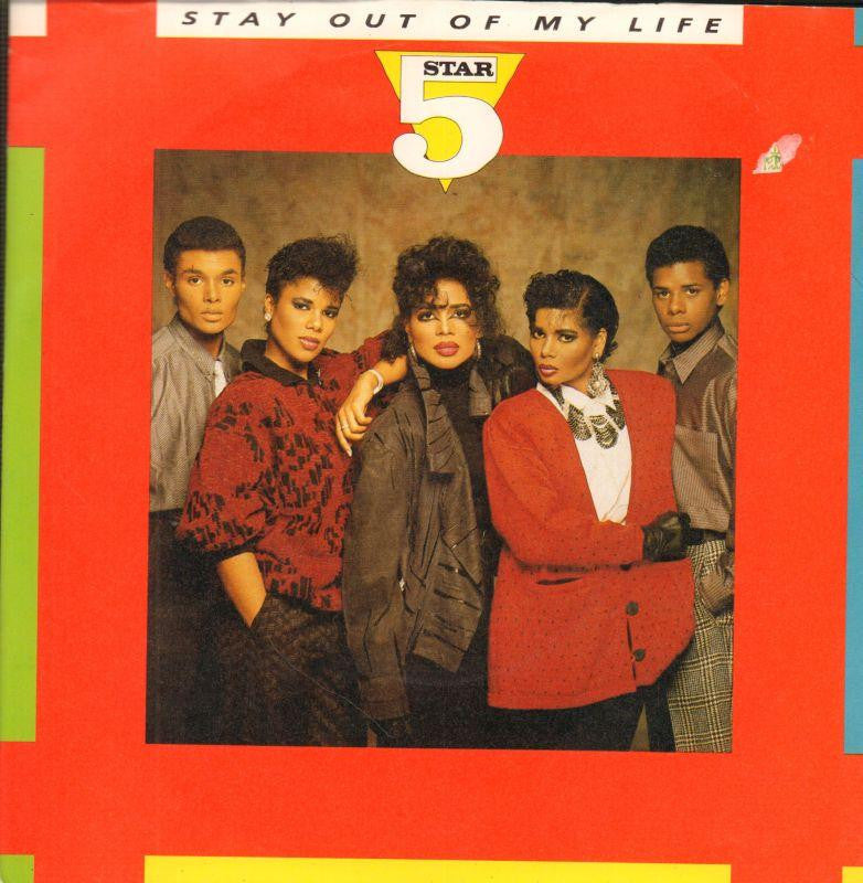 "5 Star-Stay Out Of My Life-RCA-7"" Vinyl P/S"
