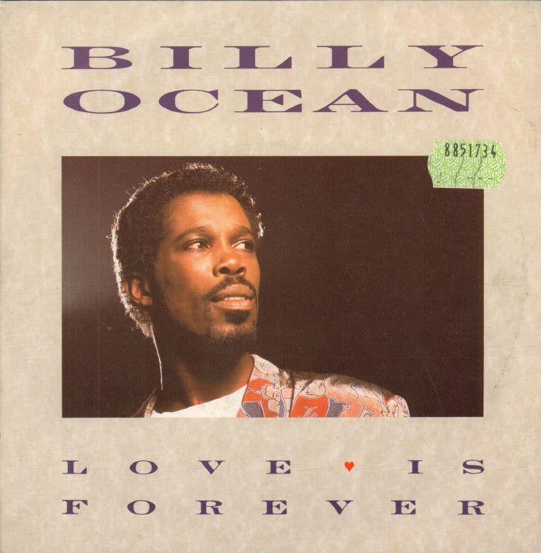"Billy Ocean-Love Is Forever-Jive-7"" Vinyl P/S"