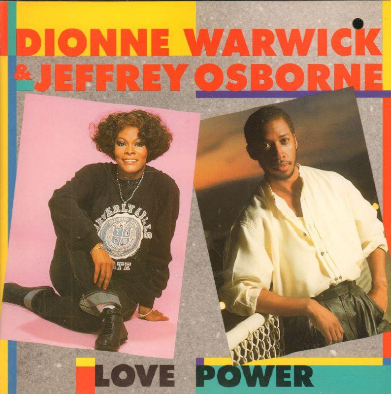 "Dionne Warwick-Love Power-Arista-7"" Vinyl P/S"