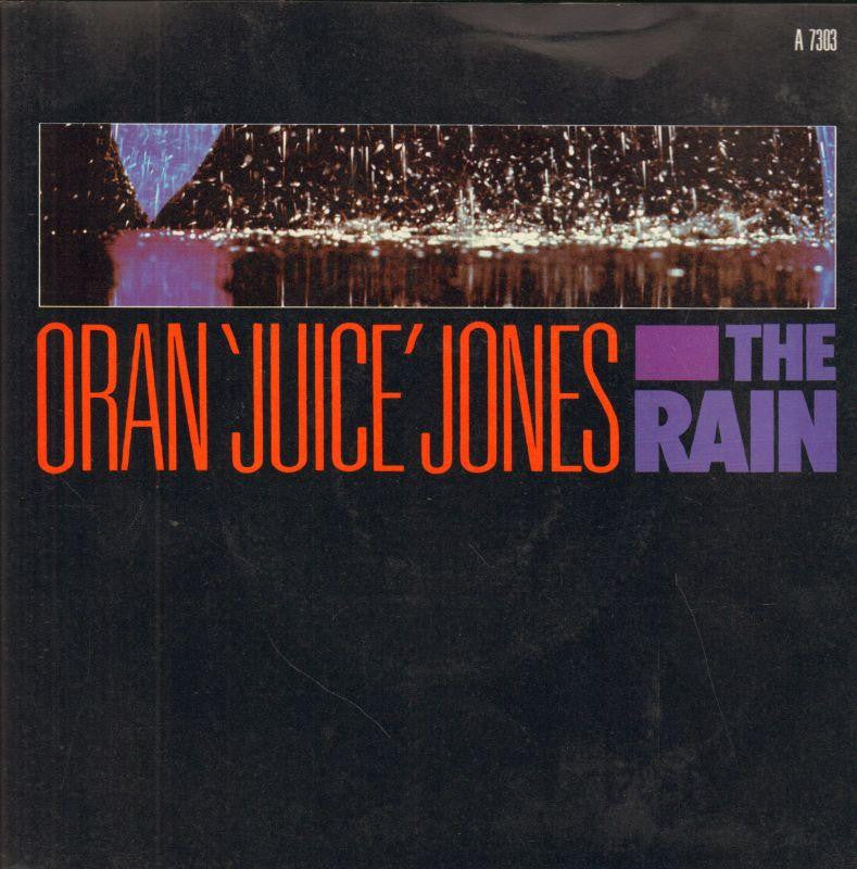 "Oran' Juice' Jones-The Rain-Def Jam-7"" Vinyl P/S"
