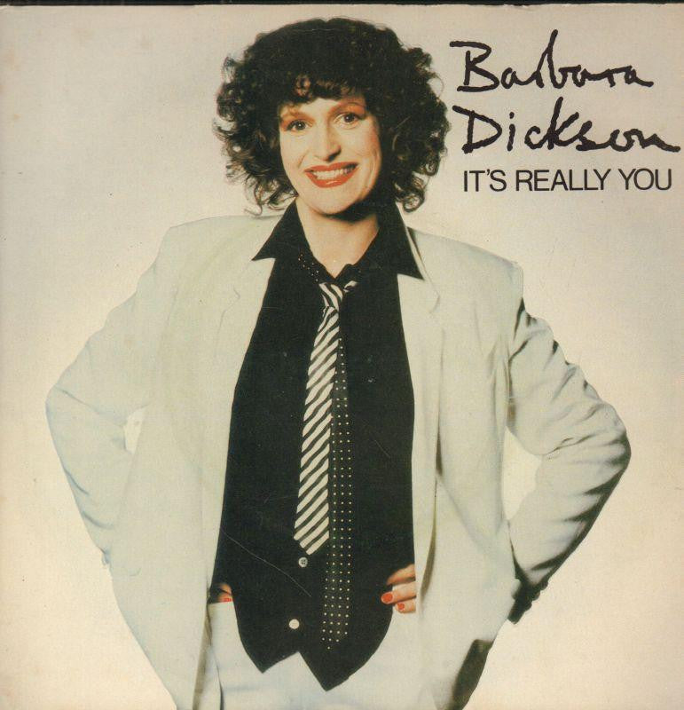"Barbara Dickson-It's Really You-Epic-7"" Vinyl P/S"