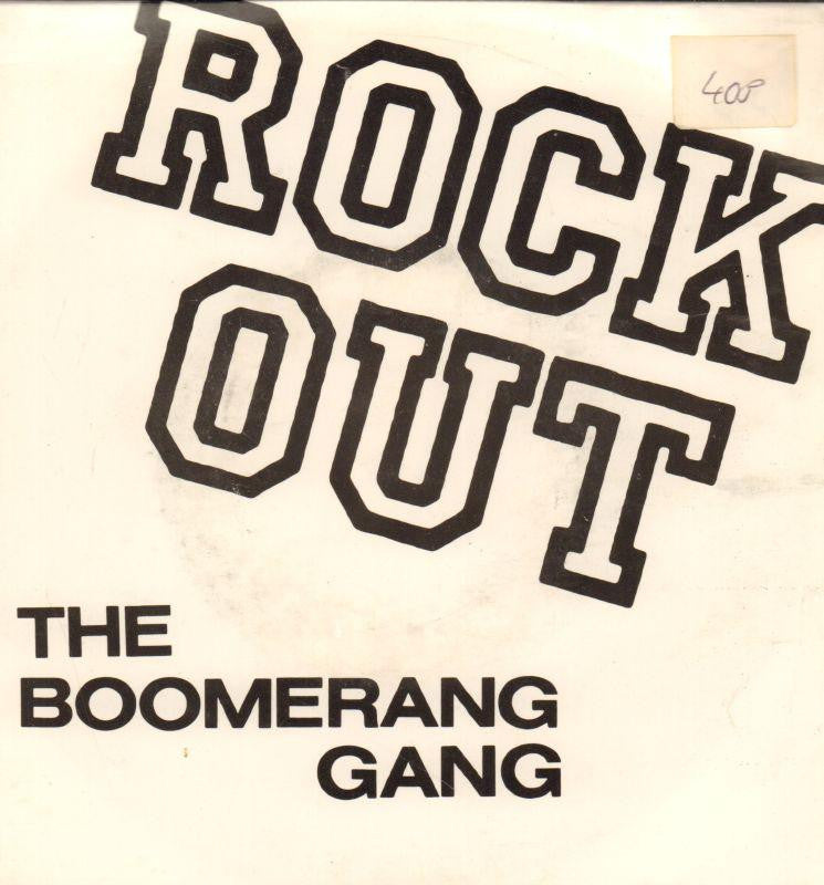 "The Boomerang Gang-Rock Out-Survival-7"" Vinyl P/S"